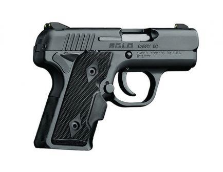 Kimber Solo Carry DC 9mm Pistol w/ Tritium Night Sights, Black ‒ 3900004