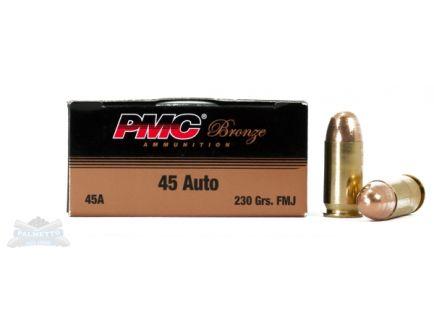 PMC Bronze 45 Auto/ACP 230gr FMJ Ammunition 50rds - 45A