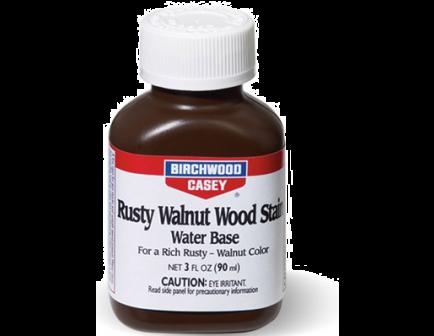 Birchwood Casey Rusty Walnut Wood Stain 3oz 24323