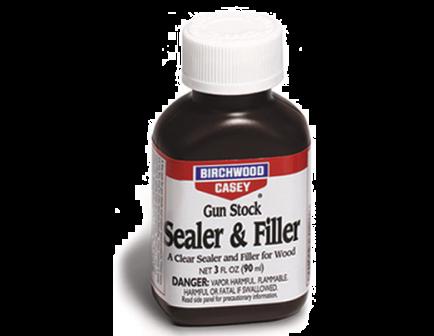 Birchwood Casey Gun Stock Clear Sealer & Filler 3oz 23323