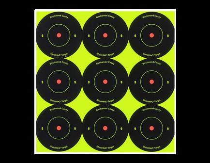 "Birchwood Casey Shoot-N-C 2"" Bulls-eye Target 108 Targets 34210"