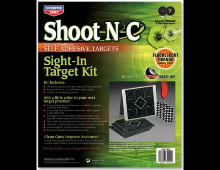 "Birchwood Casey Shoot-N-C 12"" Sight-In Target Kit 4 Targets 34202"