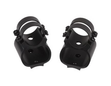 """Weaver See-Thru Ruger 10/22 1"""" Stainless Steel Quick Detachable 2-Piece Lock Mount - 49734"""