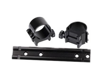 "Weaver See-Thru Winchester 94 1"" Steel Strap Quick Detachable 2-Piece Lock Mount, Gloss Black - 49716"