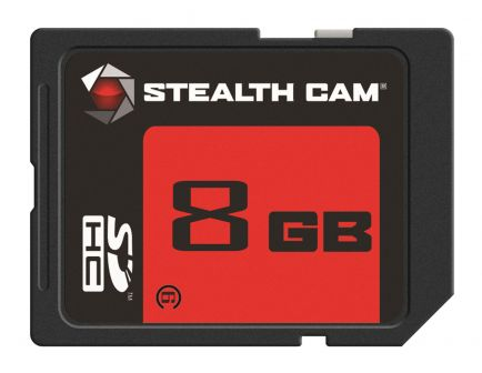 Stealth Cam 8 GB SD Memory Card, 1/pack - STC-8GB