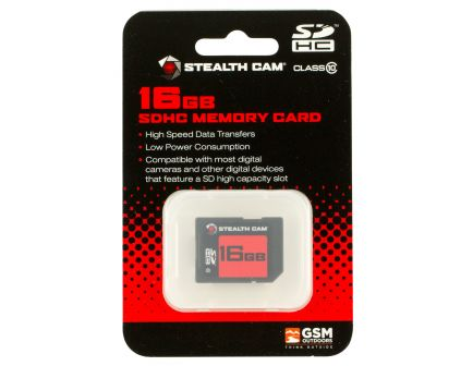 Stealth Cam 16 GB SD Memory Card, 1/pack - STC-16GB