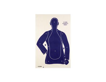 Champion Police Silhouette Target B21E (100/PK) 45759