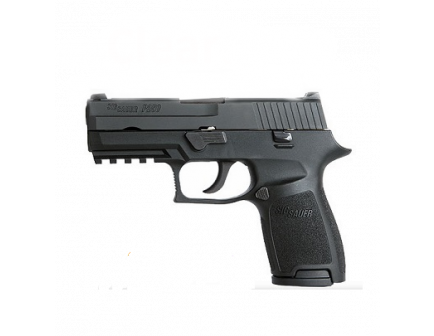 Sig Sauer P250 Compact 9mm Pistol With SigLite Night Sights - 250C-9-BSS