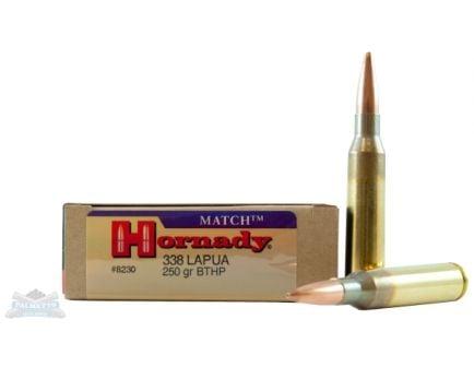 Hornady .338 Lapua Mag Ammo