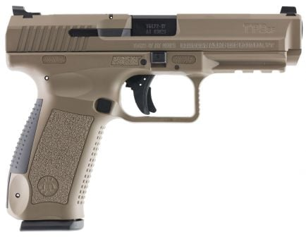 Canik TP9SF 9mm Pistol, Desert Tan - HG4070D-N