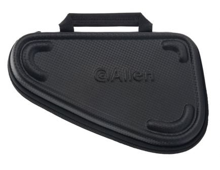 "Allen Molded 10"" Handgun Case, Black - 76-10"