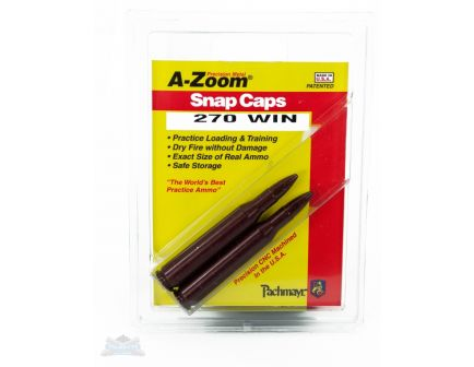 A-Zoom .270 Winchester Snap Caps 2 Pack 12224