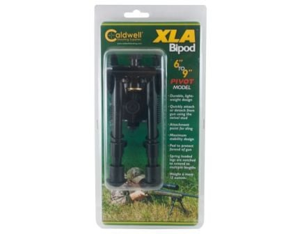 "Caldwell XLA 6 to 9"" Bipod – Pivot Model, Black 247142"