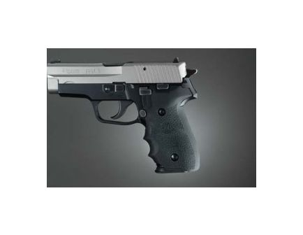 Hogue Wrap-around Rubber Grips with Finger Groove for Sig Sauer P228/P229 Black 28000