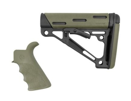 Hogue AR-15/M-16 Grip and Collapsible Buttstock 2-Piece Kit, OD Green - 15256