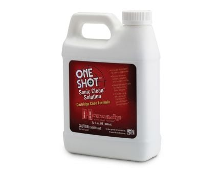 Hornady One Shot® Sonic Clean® Lock-N-Load Sonic Brass Case Solution – 43355