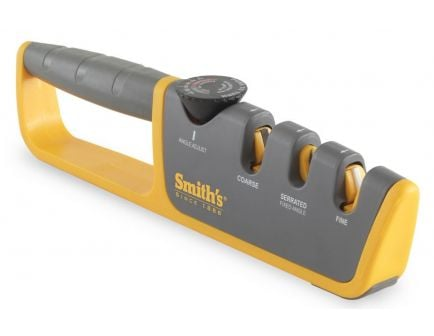 Smith's Adjustable Angle Pull-Thru Knife Sharpener 50264