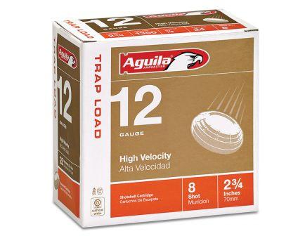 Aguila Competition 12 Gauge 2-3/4 inches 8 Shot 7/8 oz International Lead Shotshell, Birdshot, 25/Box - 1CHB1252