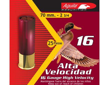 Aguila Sub-Gauge 16 Gauge 2-3/4 inches 7-1/2 Shot 1-1/8 oz Lead Shotshell, Birdshot, 25/Box - 1CHB1607