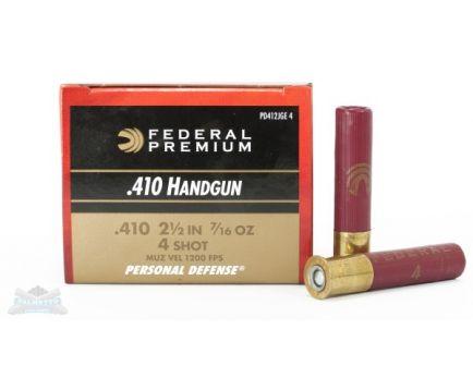 "Federal 410ga 3"" 9 Pellet 4 Buck Ammunition, 20 Round Box - PD413JGE 4"
