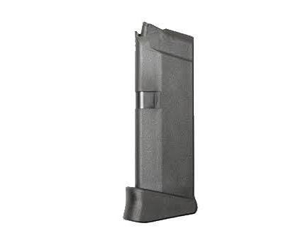 Glock Magazine: Model 42 6rd 380 Auto/ACP w/ Finger Ext - M420620PKE