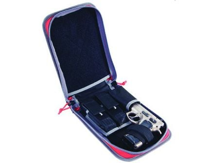 GPS Medium First Aid Kit w/ Pistol Storage - Red - GPS-D1075PCR