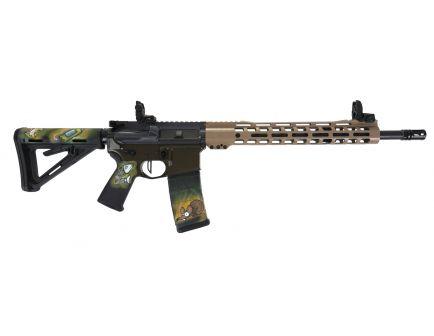 "PSA Custom ""Dumpster Tactical"" 5.56 NATO 16"" Nitride 13.5"" MLOK MOE Rifle w/ 3.5lb Flat FCG"