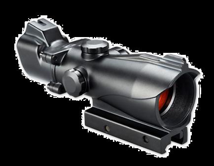 Bushnell AR Optic, Red/Green T-Dot Reticle,Black - AR730232