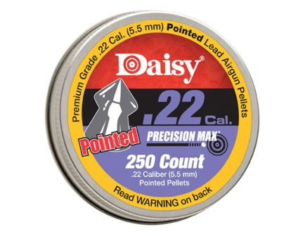 Daisy PrecisionMax 250 count .22 Cal. Pointed Field Pellets 7922