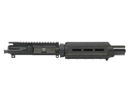 "PSA 7"" Nitride 1:7 Pistol Length 300AAC Blackout Marauder AR-15 Upper Assembly, Black - No BCG/CH"