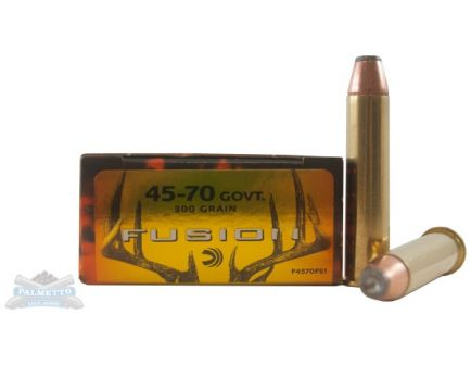 Federal 45-70 Government 300gr Fusion Ammunition 20rds  - F4570FS1