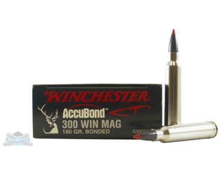 Winchester 300 Win Magnum 180gr Accubond CT Rifle Ammunition 20rds - S300WMCT