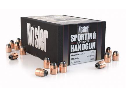 Nosler 44 Caliber (.429) 240gr Jacketed Soft Point Bullets 250ct - 44868
