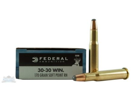 Federal 30-30 Winchester Ammo