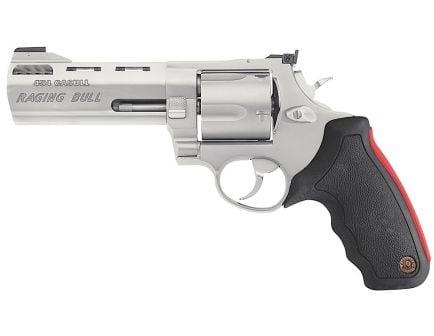 Taurus Raging Bull X-Large .454 Casull Revolver, Matte Stainless - 2-454029M