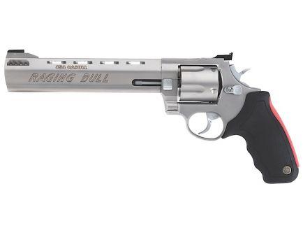Taurus Raging Bull X-Large .454 Casull Revolver, Matte Stainless - 2-454089M