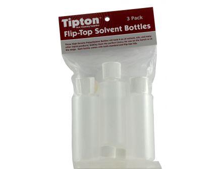 TIPTON 3-PACK FLIP-TOP SOLVENT BOTTLE, 3 OZ