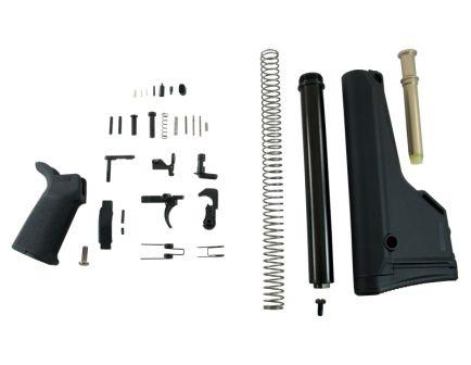 Black Magpul MOE AR-15 lower build kit