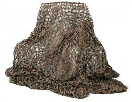 "Camo Unlimited Premium Military Netting, 9' 10"" L x 9' 10"" W, Green/Brown - MS01B"