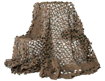 "Camo Unlimited Premium Ultra-Lite Netting, 19' 8"" L x 7' 10"" W, Green/Brown - LW04B"