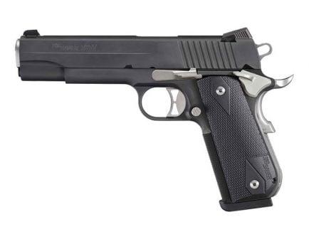 Sig Sauer 1911 Fastback Nightmare Full-Size .45 ACP Pistol, Black - 1911F-45-NMR