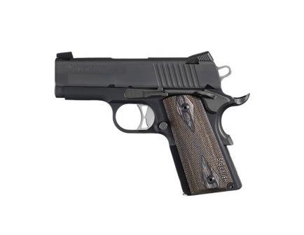 Sig Sauer Pistol 1911 Ultra Compact .45 ACP 1911U-45-BSS Range Model