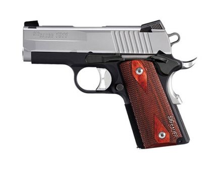Sig Sauer 1911 Ultra-Compact .45 ACP Pistol, Two Tone - 1911U-45-TSS