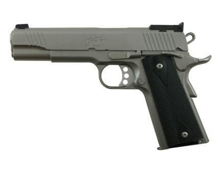 "Kimber Target II Stainless Steel 5"" 9mm Pistol, Satin Silver - 3200108"