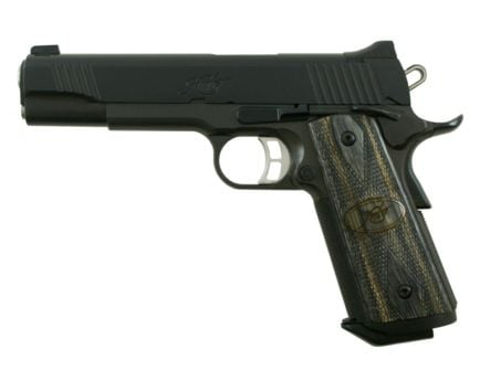 Kimber Tactical Custom II .45 ACP 1911 Pistol, Black - 3200137