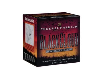 "Federal 12ga 3.5"" 1.5oz #2 Black Cloud Waterfowl Shotshells 25rds - PWB134 2"