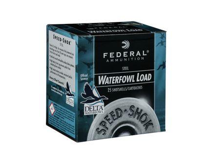 """Federal 12ga 3.5"""" 1-3/8oz #2 Speed-Shok Waterfowl Steel Shotshell Ammunition - WF133 2"""