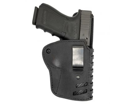 Versacarry Compound IWB RH Holster SIZE 3, Kydex/Black Leather - C1113-1