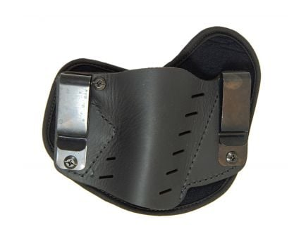 Versacarry Comfort Flex IWB Black Leather Holster, Size 3 - S1113-1