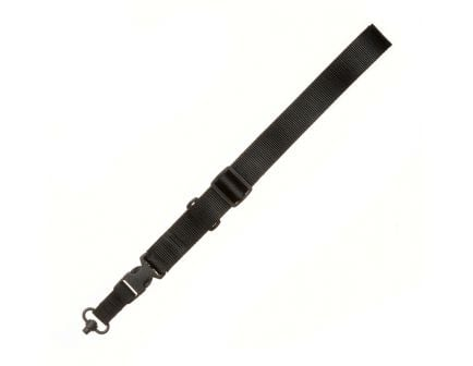 TAC Shield  CQB Single Point Sling with Quick Disconnect Swivel, Black - T6006BK